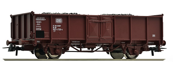 Roco Открытый грузовой вагон Typ Omm55 , 67502