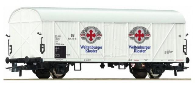 Roco Refrigerator car , Bierwagen 'Weltenberger' , 67883