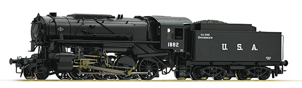 Roco Dampflokomotive S 160, USATC with sound , 72153
