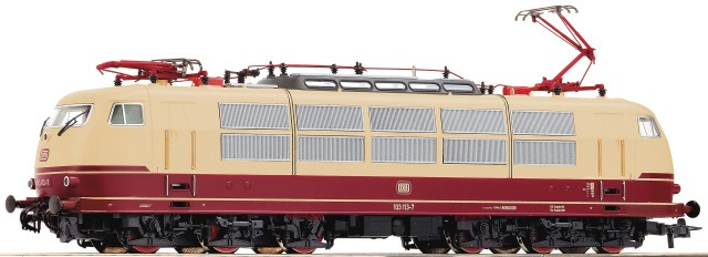 Roco Diesellokomotive BR 103 with sound , 72314