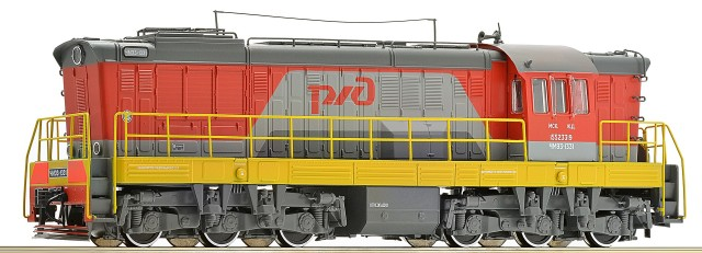 Roco Diesel ChMe3 with sound RZD , 72788