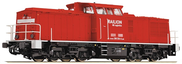 Roco Diesellokomotive BR 298 , 72843