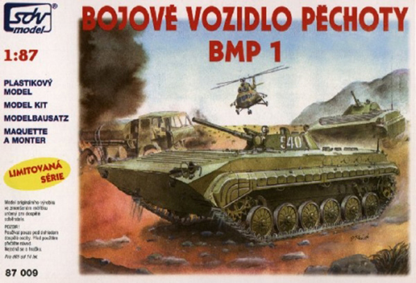 SDV Model BMP-1 Soviet amphibious infantry fighting vehicle, 87009