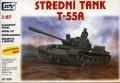 SDV Model 87025 - T-55A Soviet medium tank