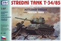 SDV Model 87135 - T-34/85 1945 Soviet medium tank