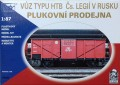 SDV Model Freight Car NTV , 4009