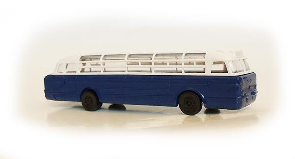 Modelltec-S.E.S Икарус 55 сине-белый 108502wb