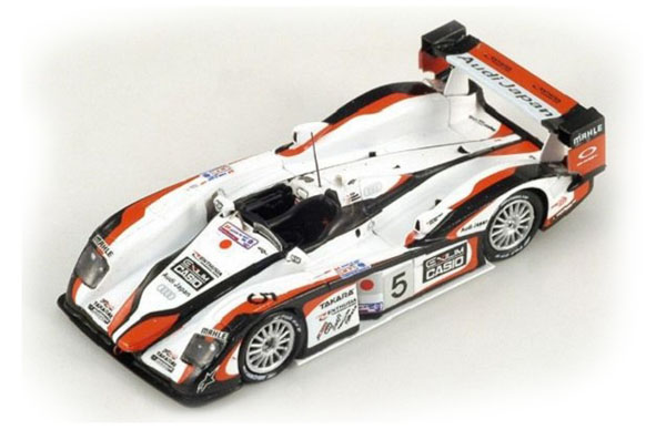 Spark Audi R8 #5 Winner LM 2004 S.Ara/R.Capello/T.Kristensen , 87LM04