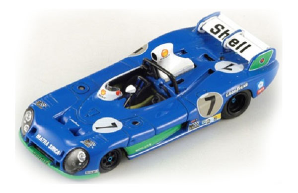 Spark Matra - Simca MS 670B #7 Winner LM 1974 , 87LM74