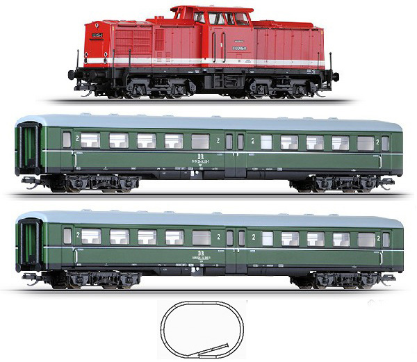 Tillig Starter set Passenger train , 01425