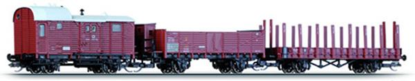 Tillig Грузовые вагоны, 3 шт 01591