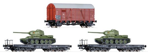 Tillig Грузовые вагоны, 3 шт, 01627