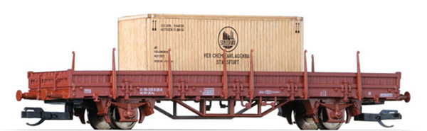 Tillig Stake car Typ Ks ,with freight,  14757