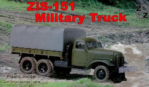 ZZ Models Zis-151 Military Truck , 87002