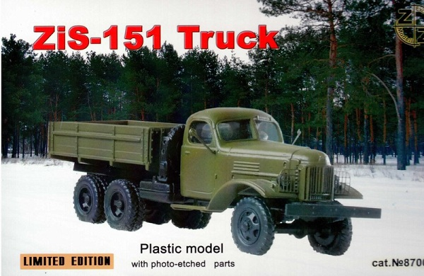ZZ Models Zis-151 Truck , 87007