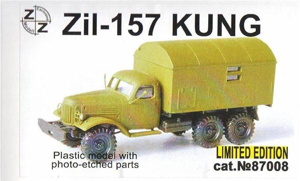 ZZ Models Zil-157 Comand Van , 87008