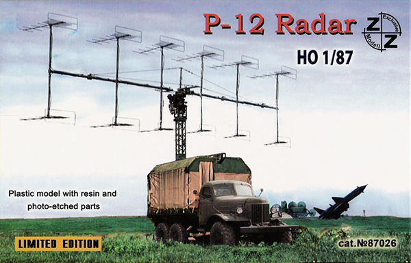 ZZ Models P-15 Soviet military radar (Spoon Rest) on Zil-157 , 87026