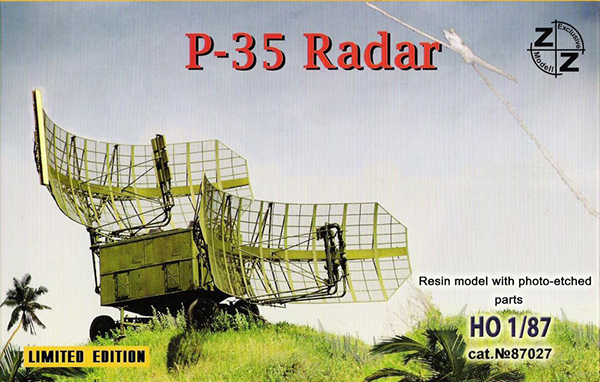 ZZ Models P-35 Soviet military radar 'Bar Lock' , 87027