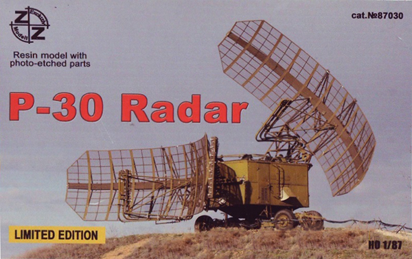 ZZ Models P-30 Soviet military radar 'Big Mesh' , 87030