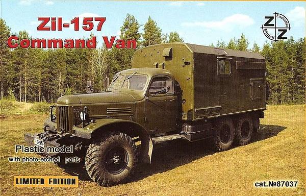 ZZ Models ZiL-157 Comand Van , 87037