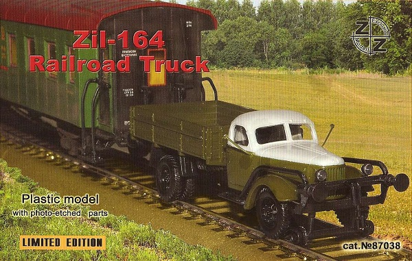 ZZ Models Zil-164 Railroad Truck , 87038