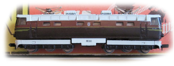 Piko 5-4121a: Электровоз ЧС-4, без коробки