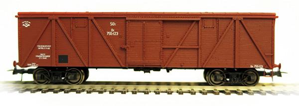 Bergs 0301: Box car, Typ 11-38 Nr 755-123