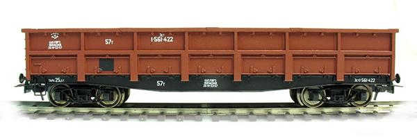 Bergs 0093: Open goods car, 57 tonn Nr 1-561-422