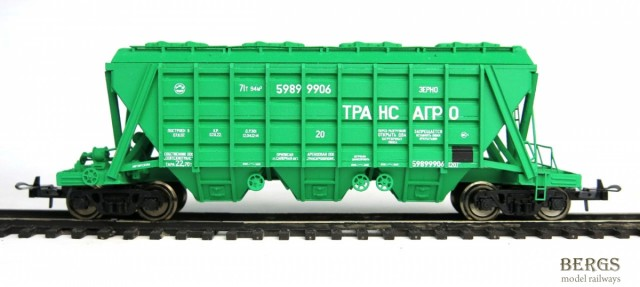 Bergs 0261: Hopper car for grains Transagro Typ 19-3054