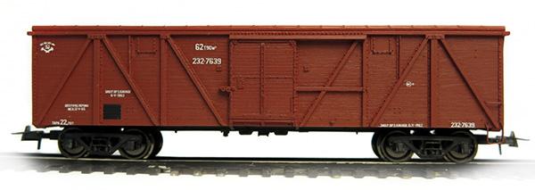 Bergs 0302: Box car, Typ 11-38 Nr 232-7639