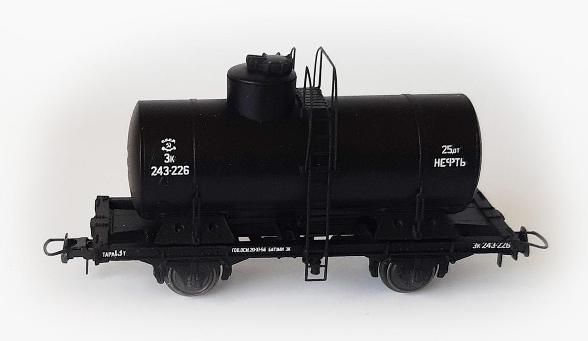 Bergs 373: Tank car 25 m3 'Benzin'