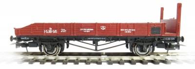 Bergs 0145: Stake car 20 tonns Nr 1-558-515