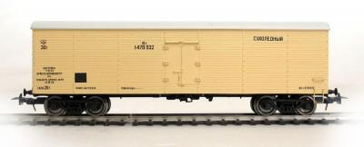 Bergs 0171: Сухолёдный вагон 30 т бежевый