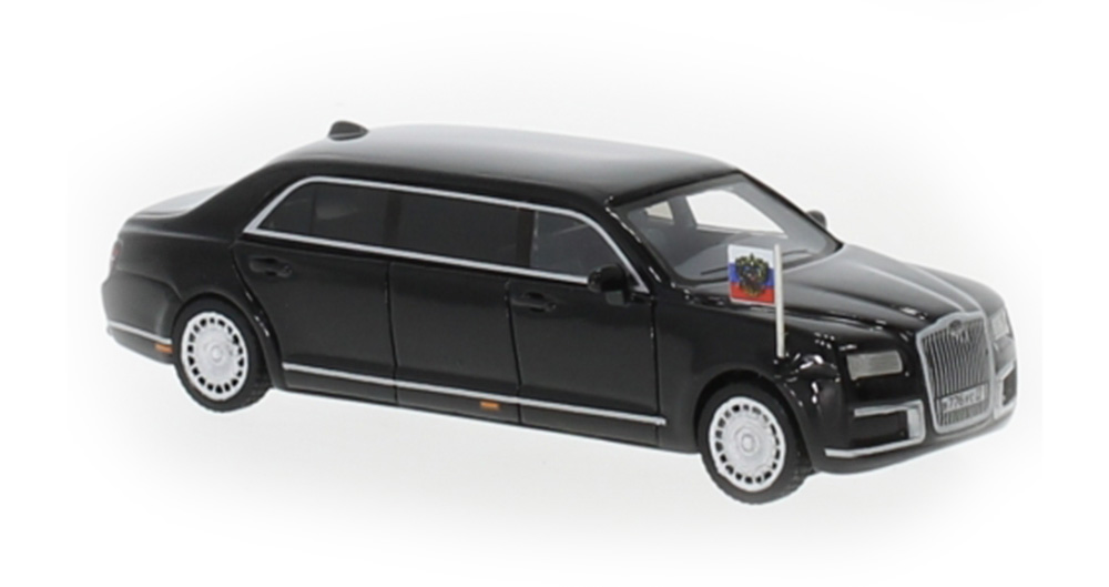 Brekina 87610: BOS: Aurus Senat Vene riigiauto