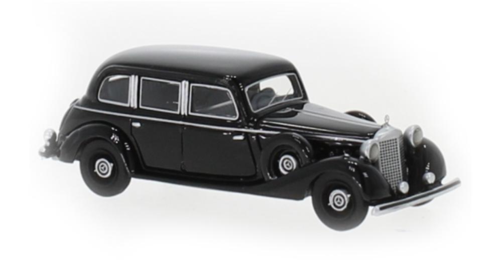Brekina 87720: BOS: Mercedes 770 (W150) Limousine 1940 black