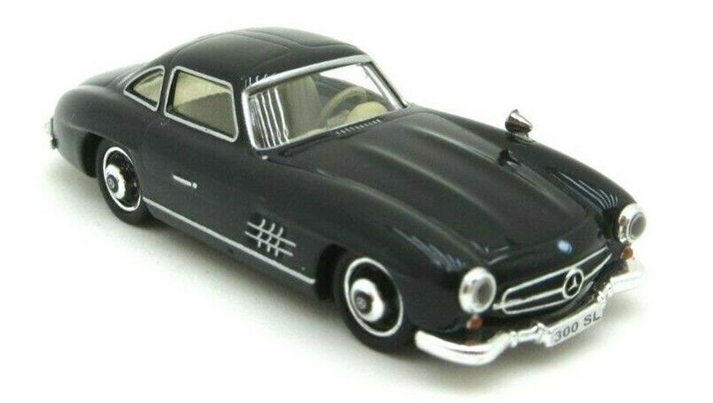 Brekina 38594: RICKO: Mercedes 300 SL (W198) black