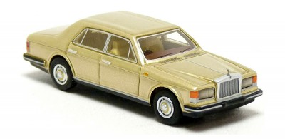 Brekina 87326: BOS: Rolls Royce Silver Spirit Mark 1 Limousine beige