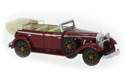Brekina 87561: BOS: Mercedes 770 Convertible 1930 red