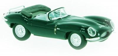 Brekina 38223: RICKO: Jaguar XKSS темнозеленый