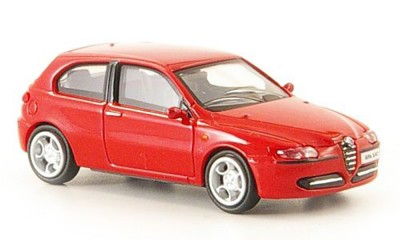 Brekina 38311: RICKO: Alfa Romeo 147 красный