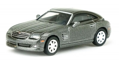 Brekina 38365: RICKO: Chrysler Crossfire Coupe серый металлик