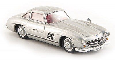 Brekina 38394: RICKO: Mercedes 300 Sl W198 серый металлик