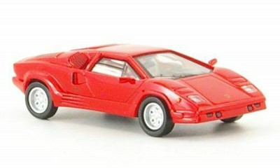 Brekina 38441: RICKO: Lamborghini Countach красный