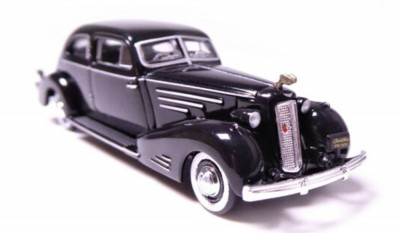 Brekina 38460: RICKO: Cadillac V16 Aerodynamic Coupe черный