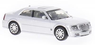 Brekina 38462: RICKO: Chrysler 300C HEMI SRT8 серебристый
