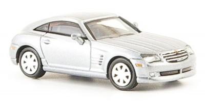 Brekina 38465: RICKO: Chrysler Crossfire Coupe серебристый