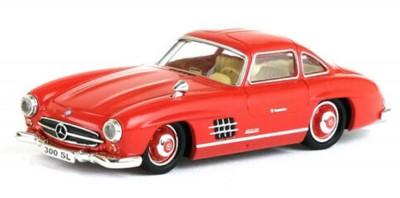 Brekina 38494: RICKO: Mercedes 300 SL (W198) красный
