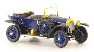 Brekina 38595: RICKO: Audi Alpensieger dark blue