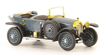Brekina 38695: RICKO: Audi Alpensieger grey