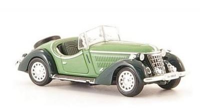 Brekina 38349: RICKO: Wanderer W25K Roadster, зеленый